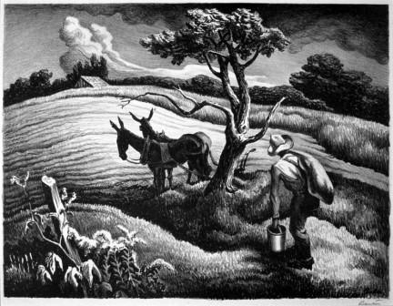 Approaching Storm by Thomas Hart Benton, 1938